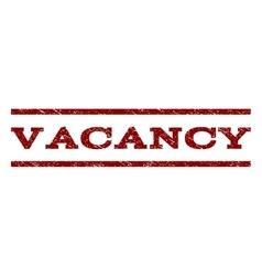 Vacancy watermark stamp vector