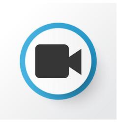 Video icon symbol premium quality isolated vector