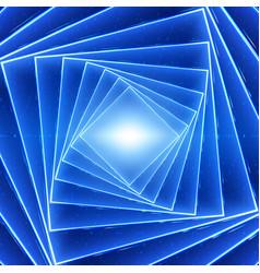 Data flow visualization square vector