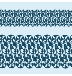 seampless pattern lace vector image