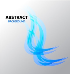 Abstract background Blue Flame vector image vector image
