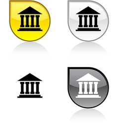 Exchange button vector