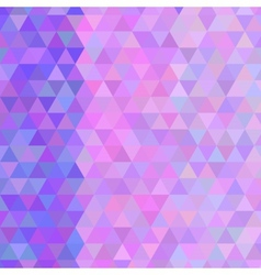 Texture of colored triangles kaleidoscope vector