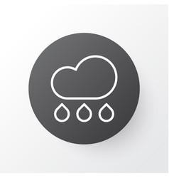 cloudburst icon symbol premium quality isolated vector image