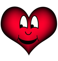 Laughing heart vector