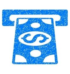 Cash withdraw grainy texture icon vector