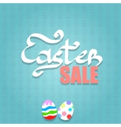 Easter Sale Background vector image vector image