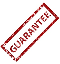 Guarantee grunge rubber stamp vector image vector image