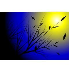 Moon light vector