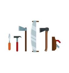Home repair tools set vector