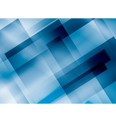 blue background with rectangles vector image