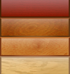 background with wooden texture for vector image vector image