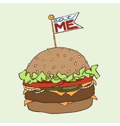 Burger vector image
