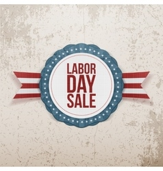 Labor day sale festive banner vector