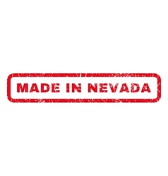 Made in nevada rubber stamp vector