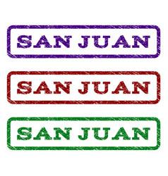 San juan watermark stamp vector