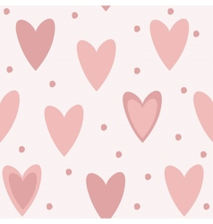Cute unique seamless pattern background with pink vector