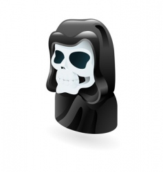 death illustration vector image
