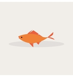Abstract Fishing Object vector image