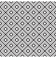 geometric seamless diamonds pattern vector image vector image