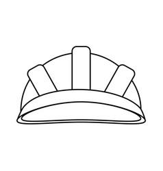 Helmet industrial security icon image vector