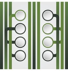 infographics green lines design vector image