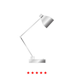 lamp it is icon vector image vector image