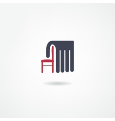 stool icon vector image