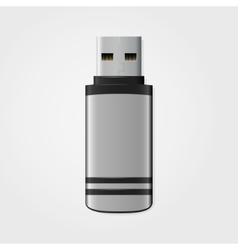 Usb flash drive icon vector