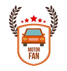 Motor fan design vector