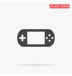 Game gadget simple flat icon vector