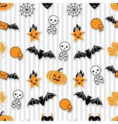 Halloween Wallpaper Pattern vector image vector image