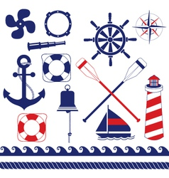 Nautical equipment vector