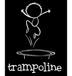 Trampoline vector