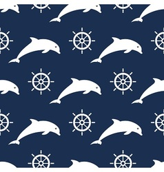 Maritime mood pattern vector