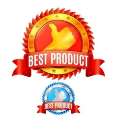 Best product awards vector