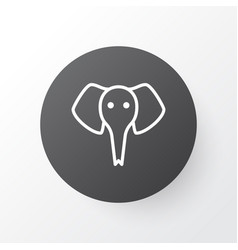 Elephant icon symbol premium quality isolated vector