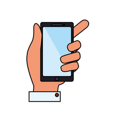 mobile smartphone technology vector image vector image