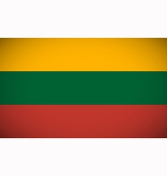 National flag of lithuania vector