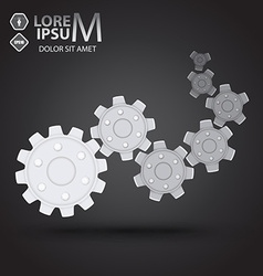 Cog wheel vector