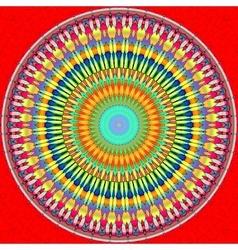 Mandala circle vector image