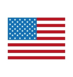 United states flag isolated icon design vector