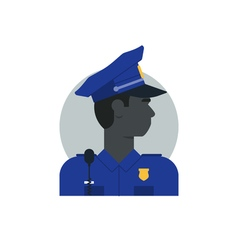 People policeman 2 vector image vector image