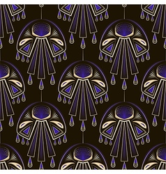 Seamless beautiful antique art deco pattern orname vector