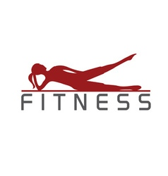 Woman of fitness silhouette character design vector