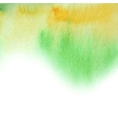watercolor abstract summer background vector image