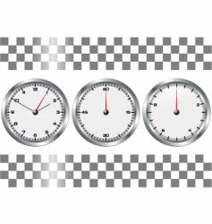 Chronographs vector
