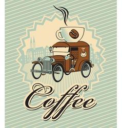 cup car vector image