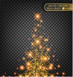 festive of falling shiny vector image vector image