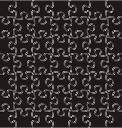 Puzzle pieces background vector